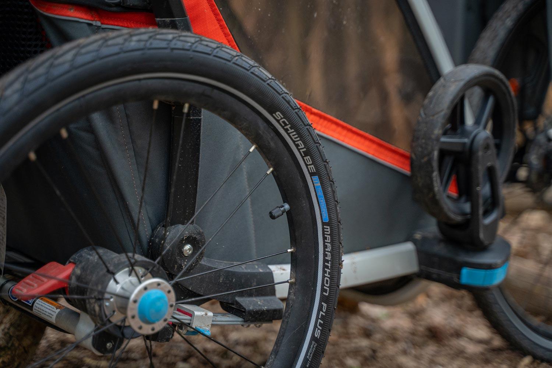 Les pneus Schwalbe Marathon Mondial en voyage à vélo