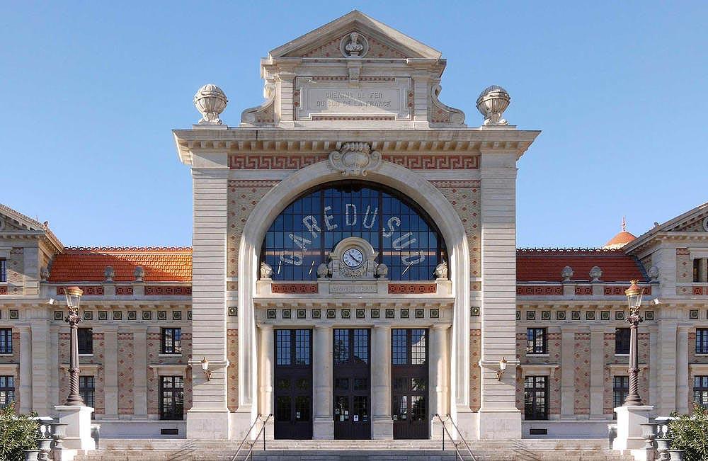 Train des Pignes la gare Sud à Nice
