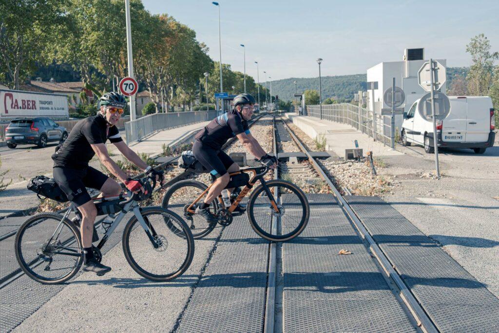 Train des Pignes gravel avec Holyfat